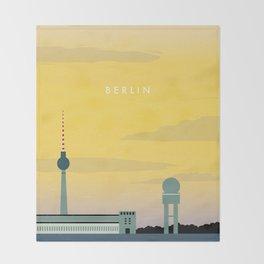 Berlin Throw Blanket