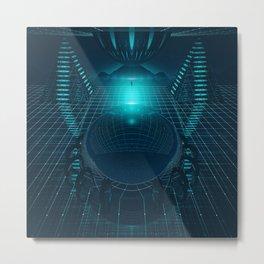 DIGITAL SPACE EGFXF26 Metal Print