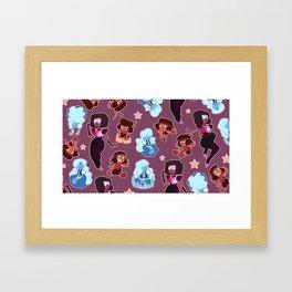 Garnet Tile - Steven Universe Framed Art Print