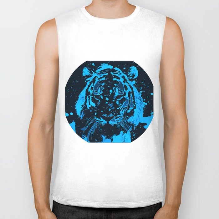 Tiger!  Biker Tank