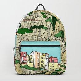 Bonifaccio in Corsica Backpack