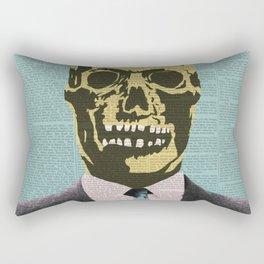 Working Man Rectangular Pillow