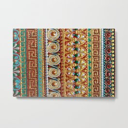Greek pattern Metal Print