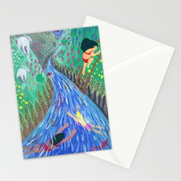 River vacation Stationery Cards