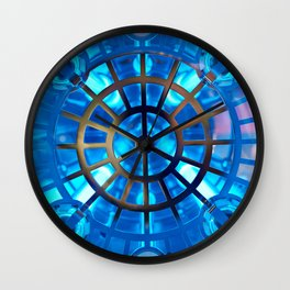 Industrial UV water purification Wall Clock