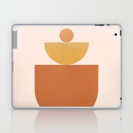 Abstraction_BALANCE_Minimalism_Art_Yoga_001 Laptop & iPad Skin