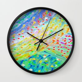 Sparkle Abstract Wall Clock