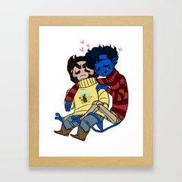 sweater buddies Framed Art Print