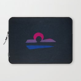 Bisexual Pride Flag Libra Zodiac Sign Laptop Sleeve
