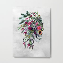 Momento Mori Chief Metal Print