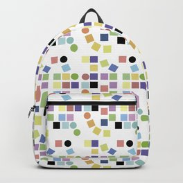 Messy square Backpack