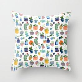 Lil'est Cactus Pattern Throw Pillow