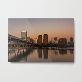 Richmond At Sunset Metal Print