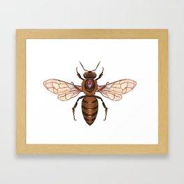 Magic Bee Framed Art Print