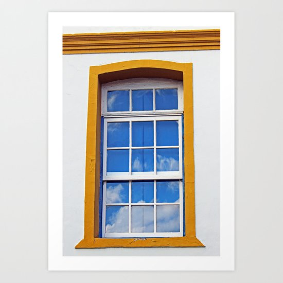 Window to the sky Art Print