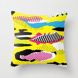 Retro Pop Throw Pillow