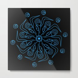 Sacred Geometry Art Print Series Metal Print