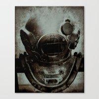 nemo Canvas Prints featuring Captain Nemo by Bella Blue Photography