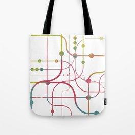 Line x Line-BubblegumPop-B Tote Bag