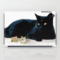 luna iPad Cases featuring Luna by artbyteesa