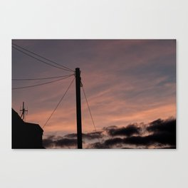 Universal connection I Canvas Print