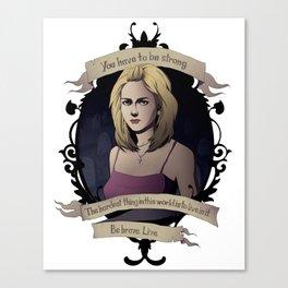 Buffy - Buffy the Vampire Slayer Canvas Print