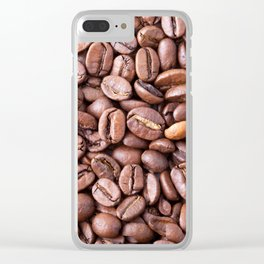 Coffee Clear iPhone Case