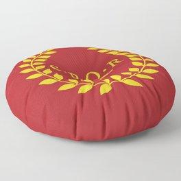 SPQR logo Floor Pillow