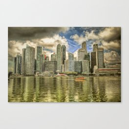 Singapore Marina Bay Sands Art Canvas Print