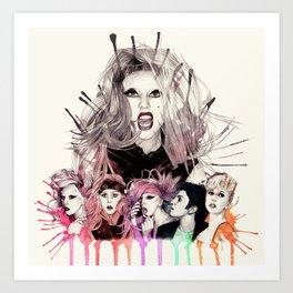 Born This Way Era Art Print