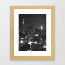 Kuala Lumpur- night Framed Art Print