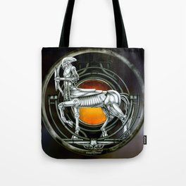 """Astrological Mechanism - Sagittarius"" Tote Bag"