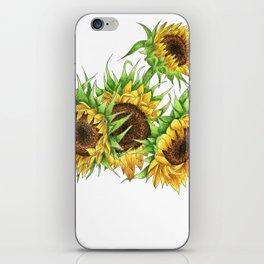 Sunflower Bouquet iPhone Skin