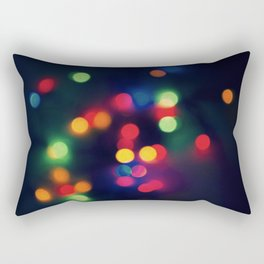 Lights of the Season Rectangular Pillow