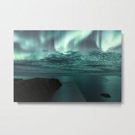 Aurora Borealis II Metal Print