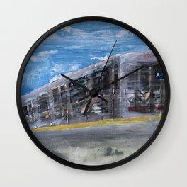 Moving A Train on NYC MTA Platform Wall Clock