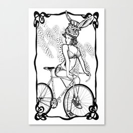 """Bicycle Race""  Canvas Print"