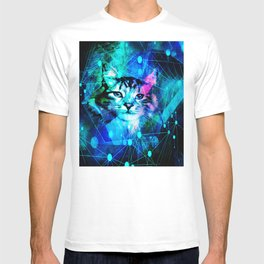 Kitty Cat Laser Lights at the Aleurorave T-shirt