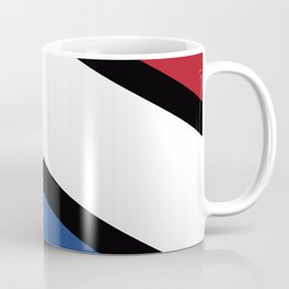 Chevron Netherlands Flag Colos Coffee Mug