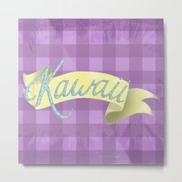 Kawaii! Metal Print