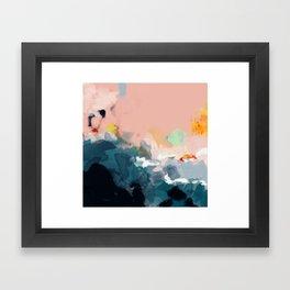 la mer Framed Art Print