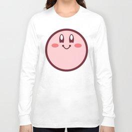 Kirby - Happy Face Long Sleeve T-shirt