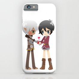Dragon Age - Fenris and Hawke iPhone Case
