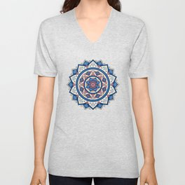 Mandala Tujuh / Seven Unisex V-Neck