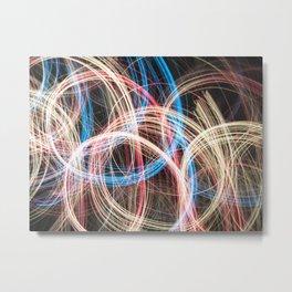 Amateur Light Show 4 Metal Print