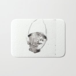 Bandaged Boy Bath Mat