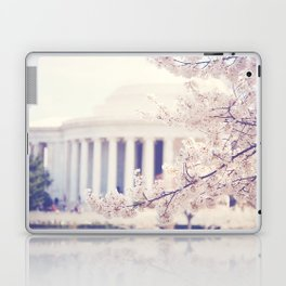 Cherry Blossoms at the Jefferson Memorial Washington DC Laptop & iPad Skin