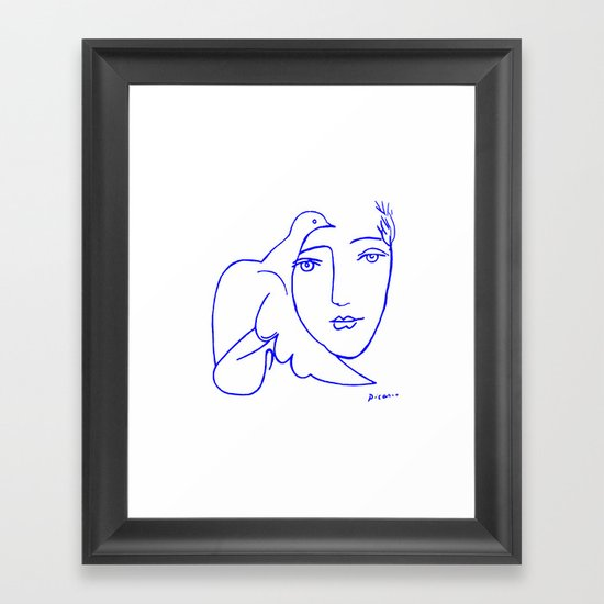 Dove Face by Picasso by eeyebrows