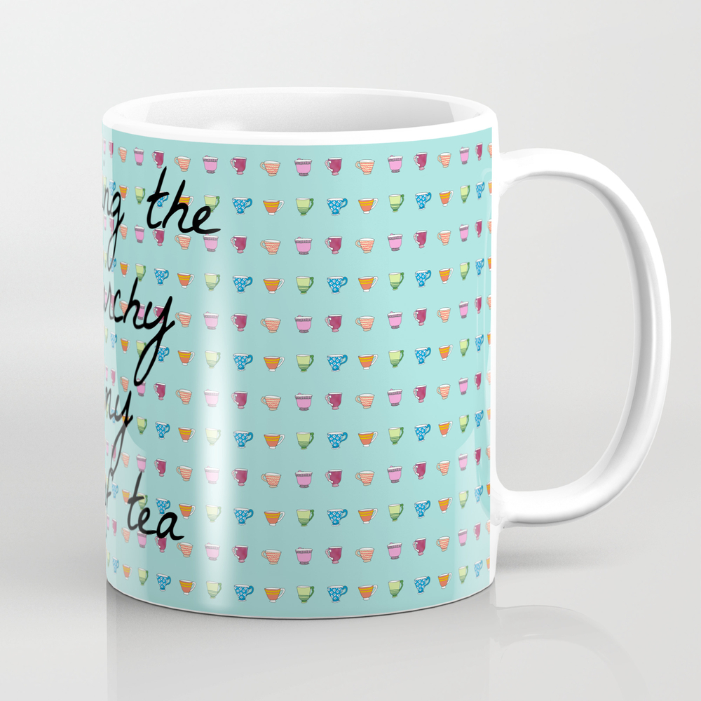 Smashing The Patriarchy Is My Cup Of Tea Mug by Feminismandtea MUG2095399
