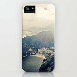 explore. {minus typography iPhone Case